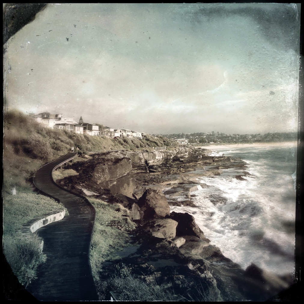 A winding coastaltrack