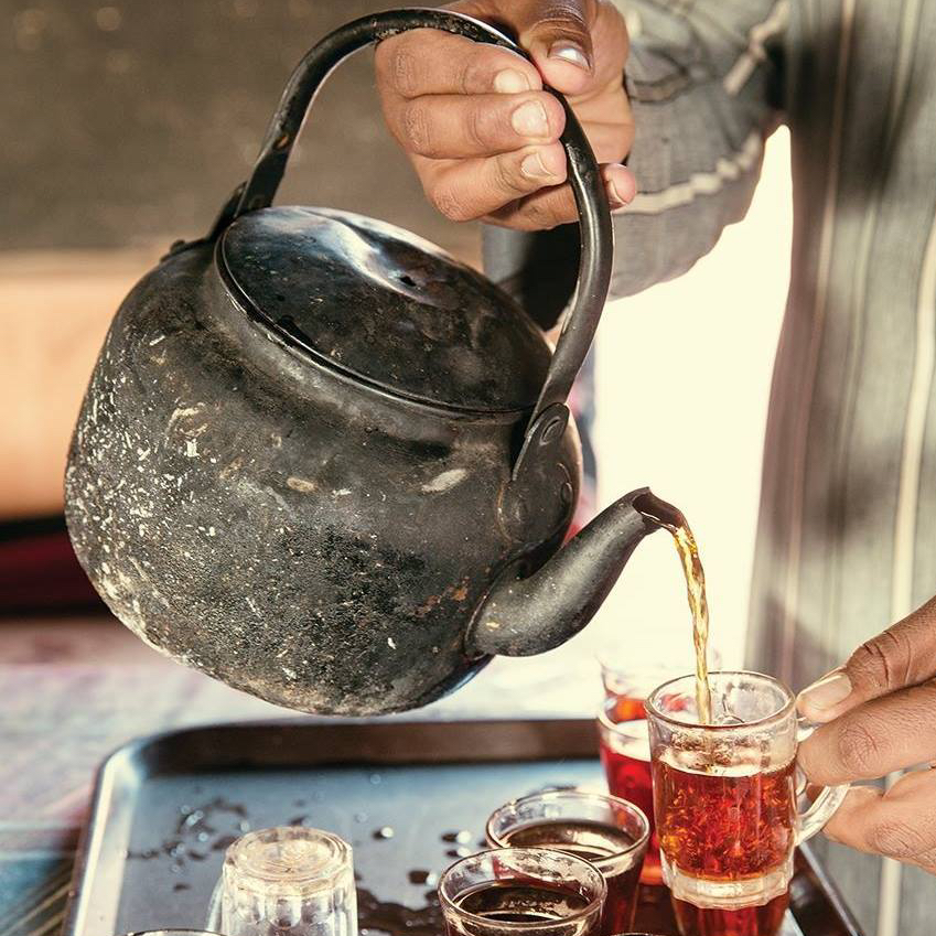 Tea & Thread: portraits of middle eastern women far fromhome