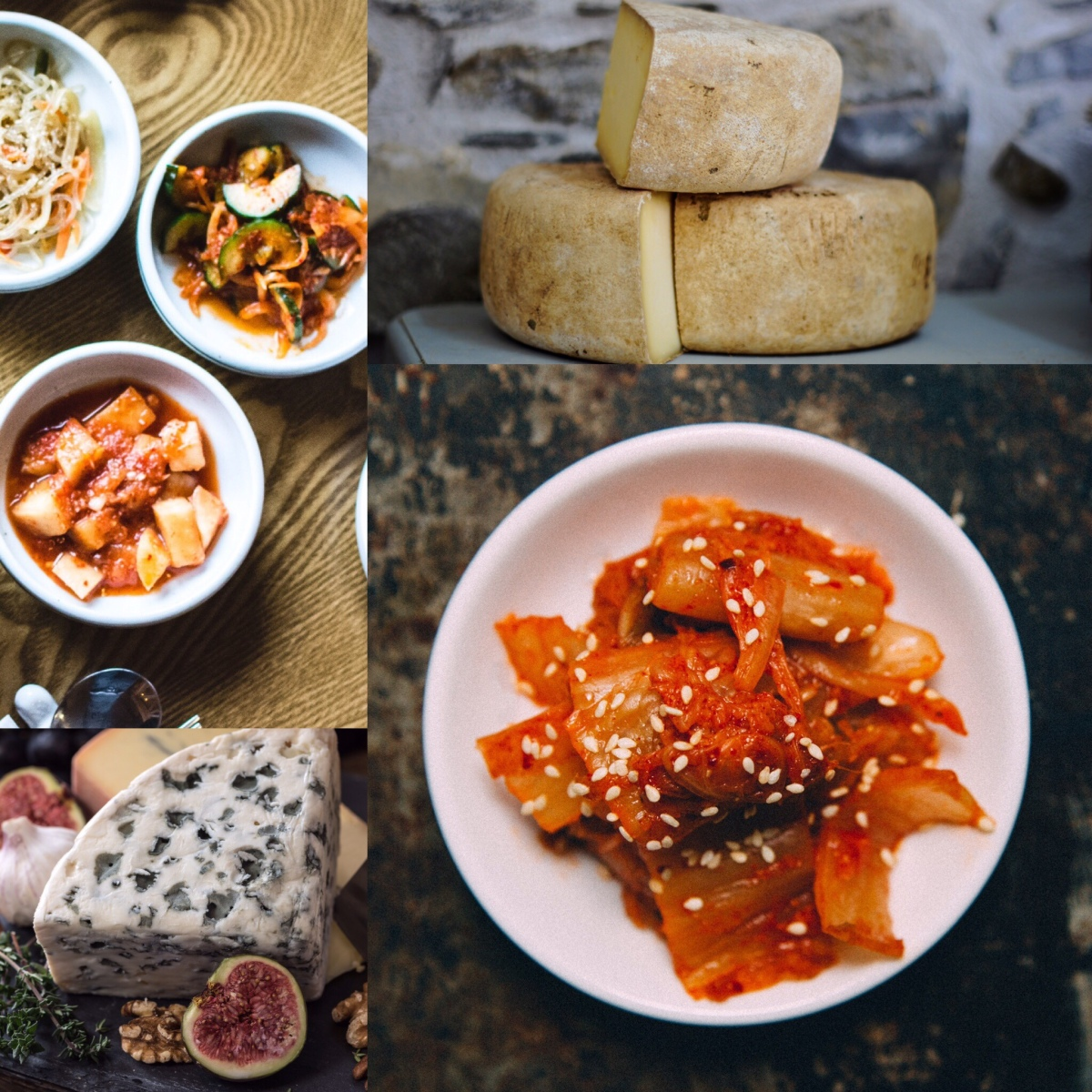 Kimchi or cheese? You must choose only one!
