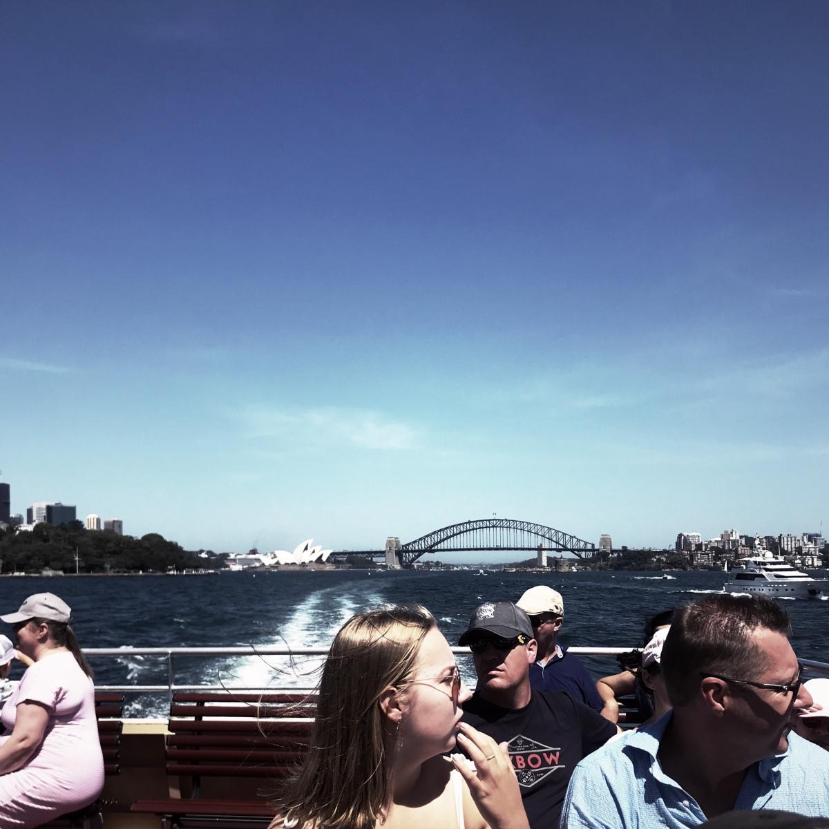 A trip on a Sydney ferry